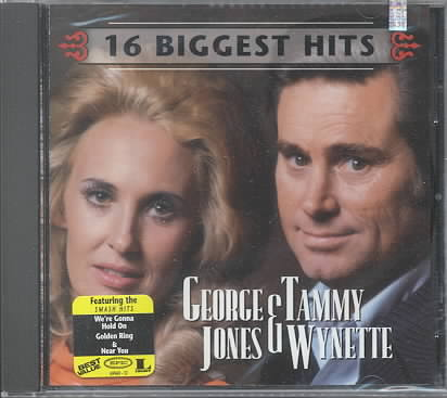 16 BIGGEST HITS BY JONES,G/WYNETTE,T (CD)